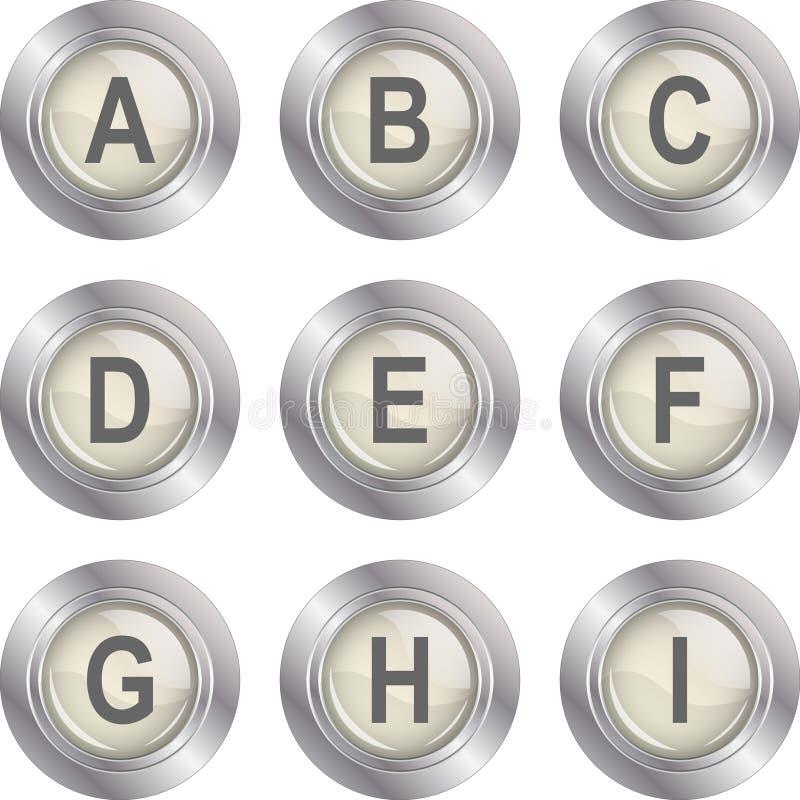 кнопка i алфавита бесплатная иллюстрация