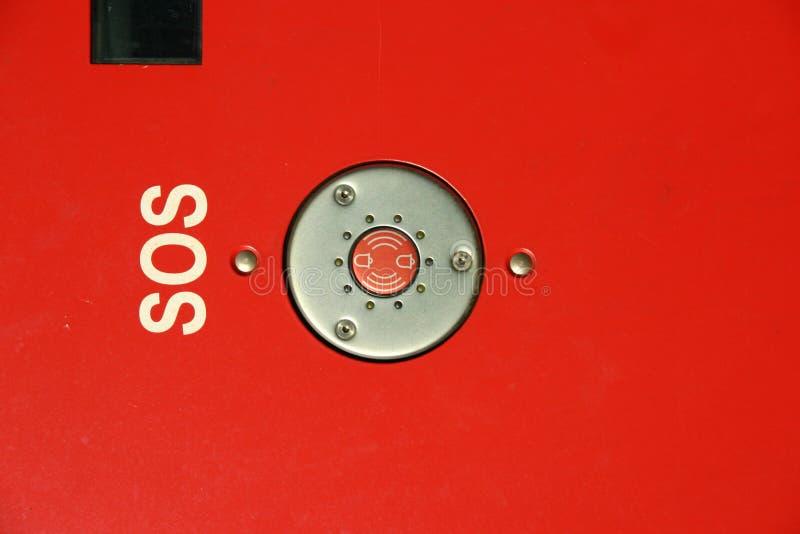 кнопка sos стоковые фотографии rf