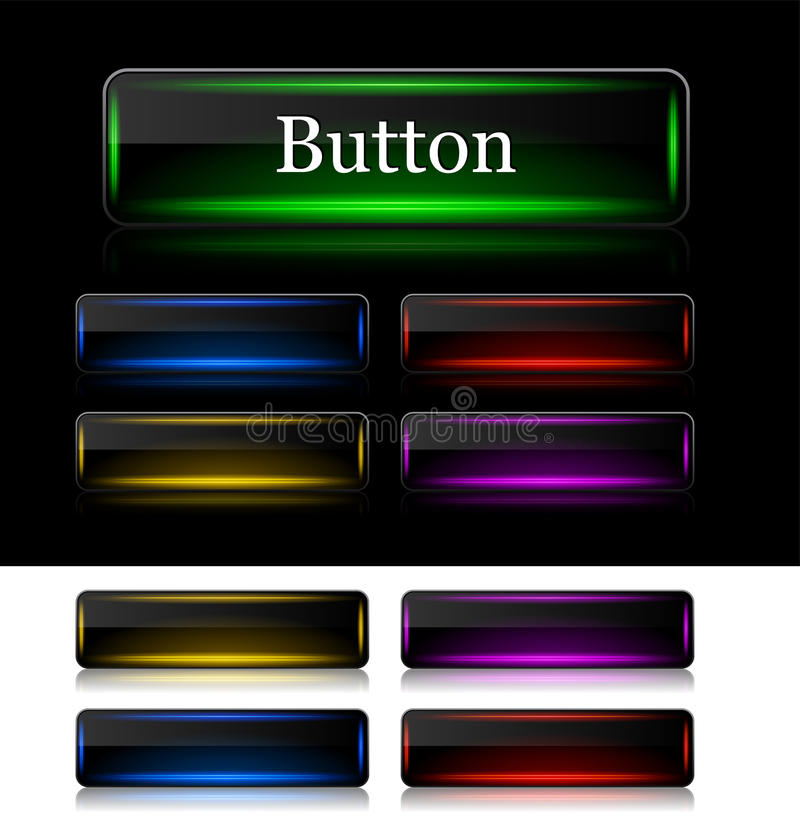 Кнопки для сети. Вектор. иллюстрация вектора