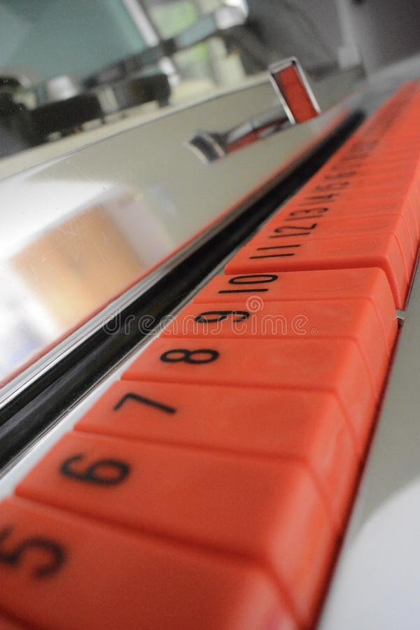 Кнопки музыкального автомата стоковые фотографии rf
