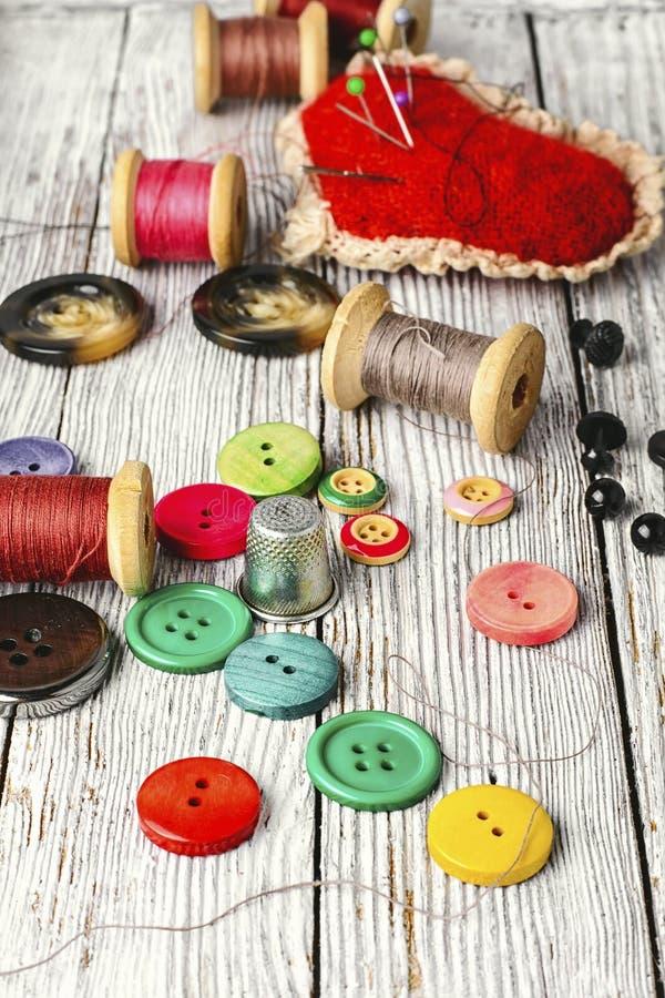 Кнопки от одежды стоковые фотографии rf