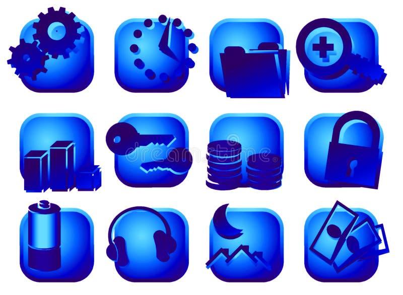 кнопки бесплатная иллюстрация