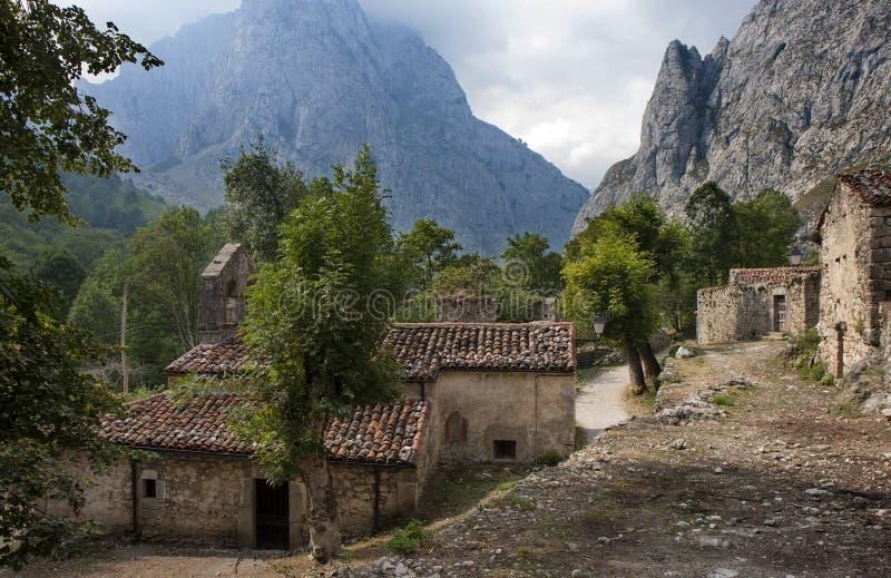 Княжество Bulnes Астурии, Испании стоковые изображения rf