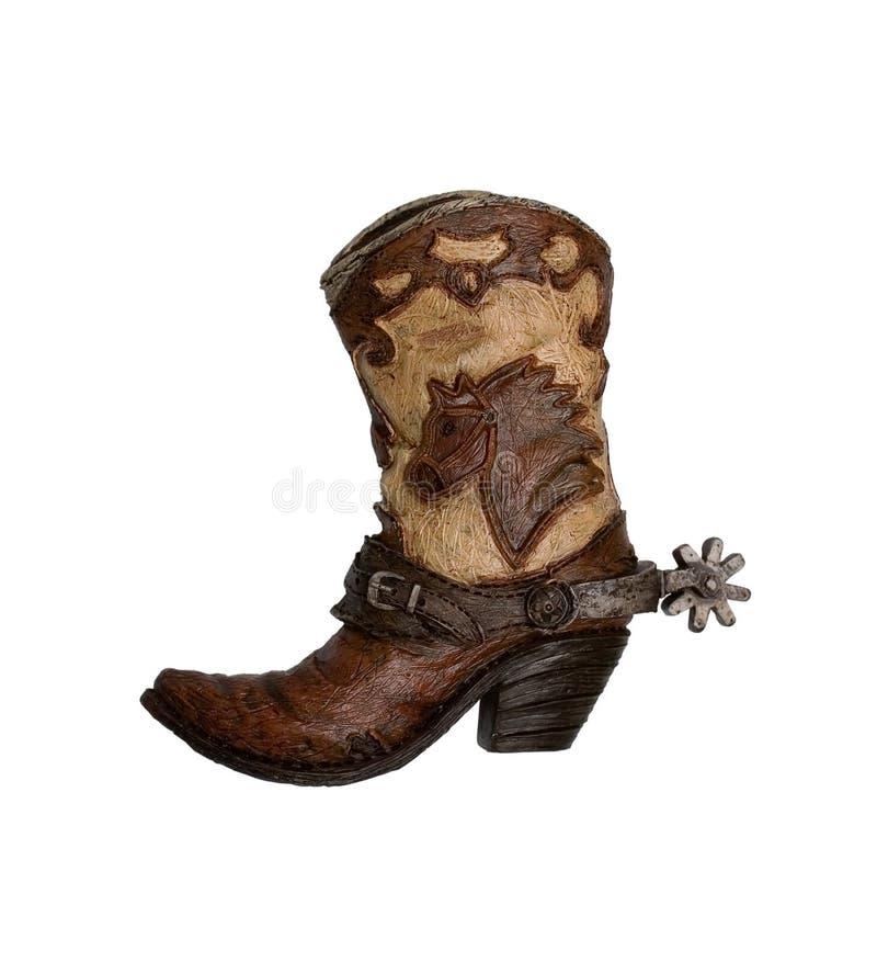 ковбой ботинка стоковая фотография rf