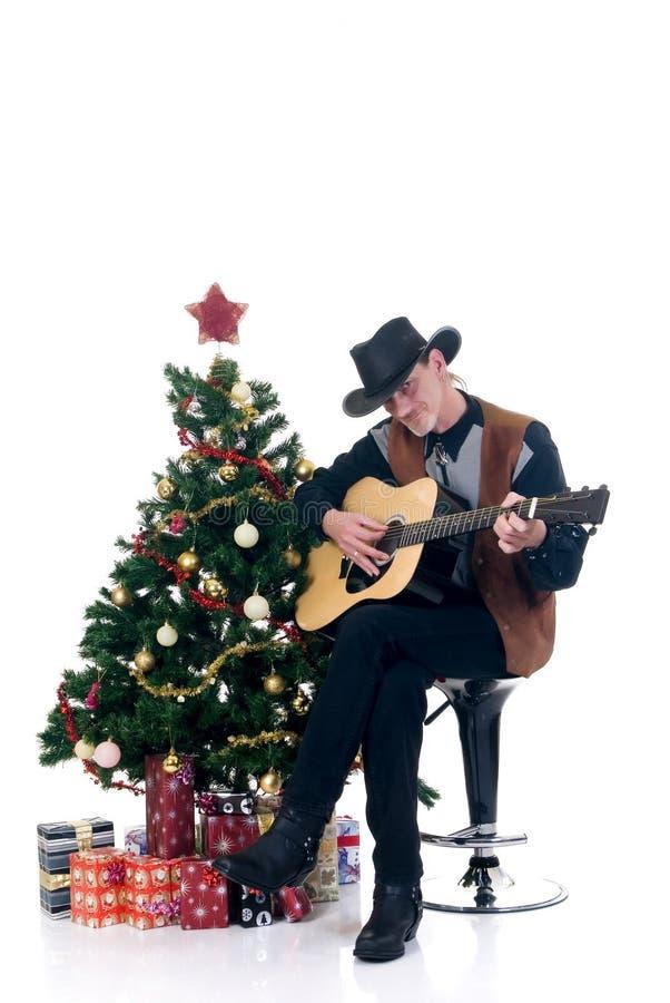 ковбой рождества стоковое фото rf