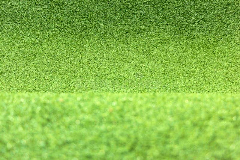 Ковер текстуры зеленой травы для предпосылки стоковое изображение rf