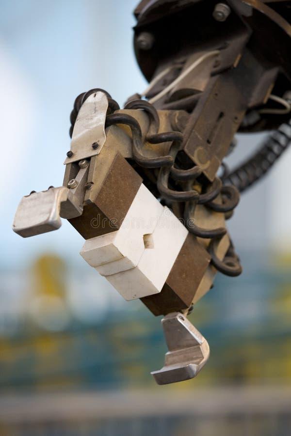 коготь робототехнический стоковые фотографии rf