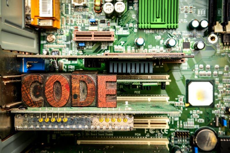 Кодирвоание и превращаться сети Учить закодировать и начать программное обеспечение стоковые изображения rf