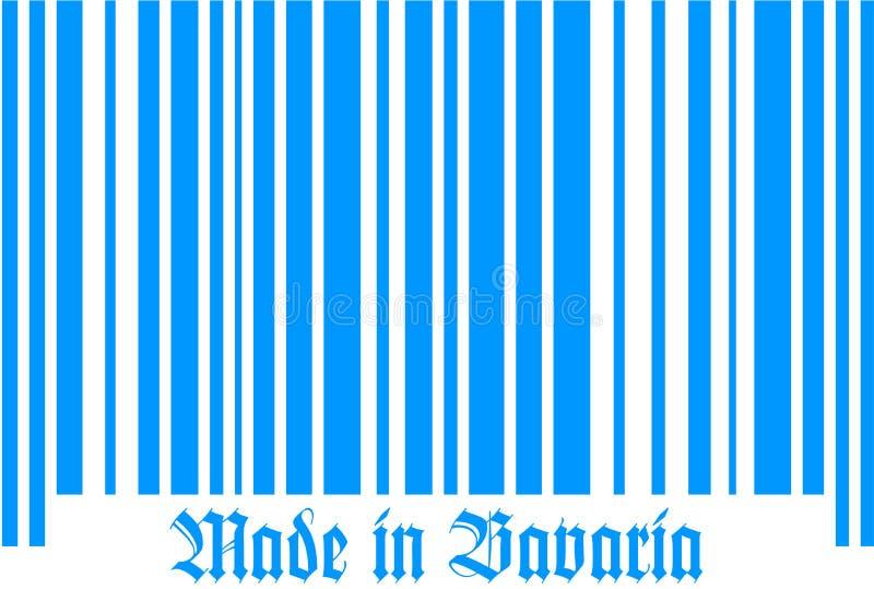 Код Баварии штанги бесплатная иллюстрация