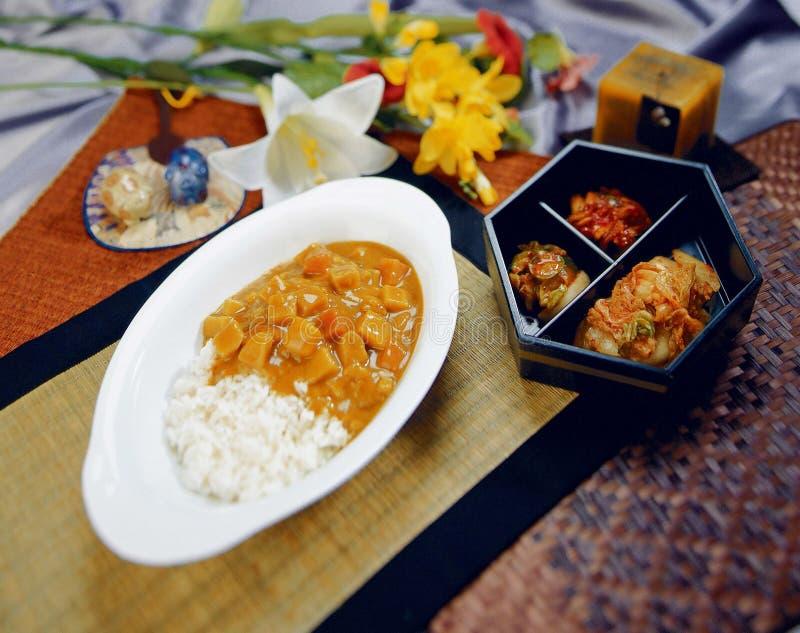 Download коец еды стоковое изображение. изображение насчитывающей карри - 650065