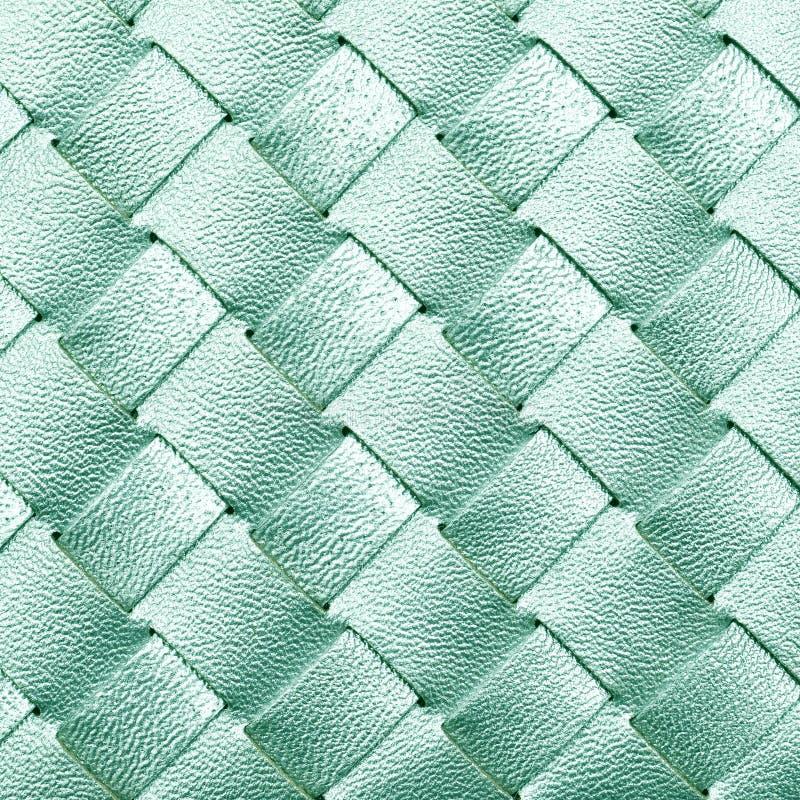 Кожаная сплетенная текстура стоковые изображения rf