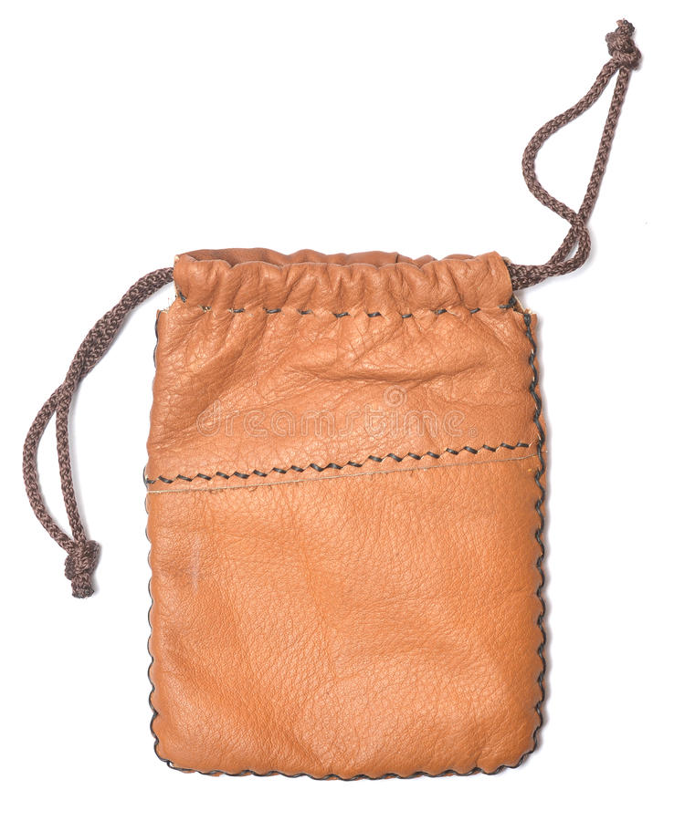 Кожаная сумка стоковые фото