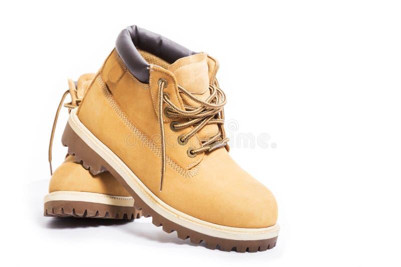 Кожаные ботинки стоковое изображение