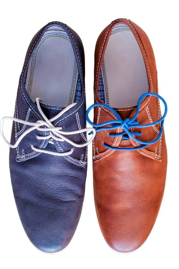 кожаные ботинки стоковые изображения rf