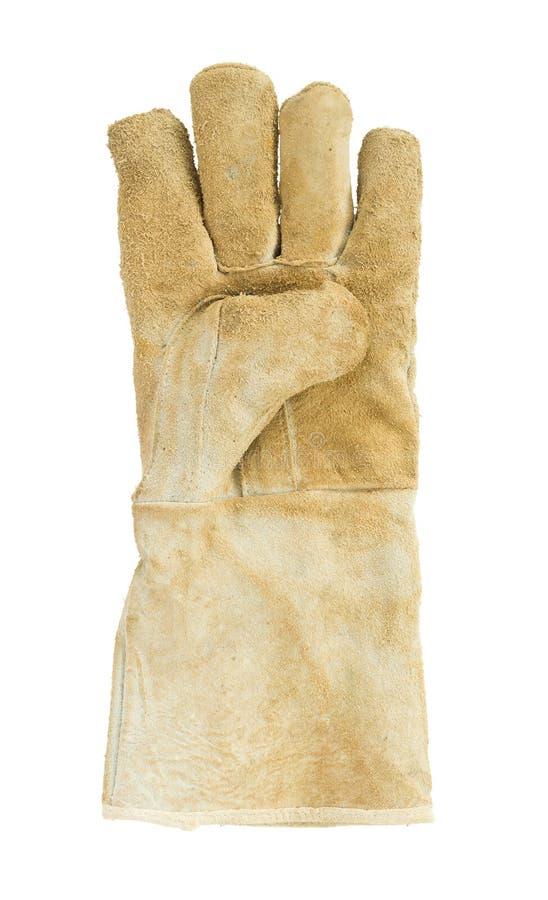 Кожаные перчатки стоковые изображения