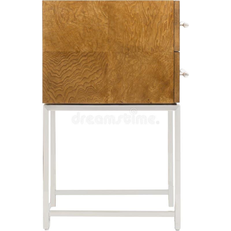 Кожаный диван мест уютный, софа 2 seater современная в светлом - серая ткань, 2-Seat софа, софа валика пера, на открытом воздухе  стоковые фото