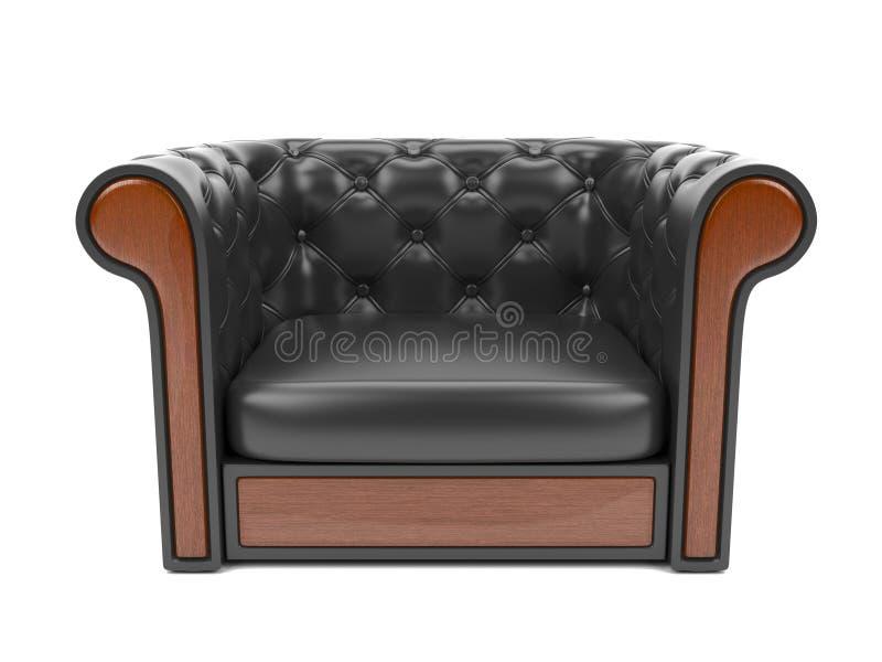 Кожаный диван r бесплатная иллюстрация