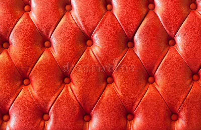 кожаный красный цвет плюша стоковая фотография