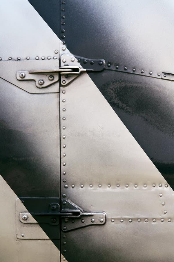 кожа вертолета детали стоковое фото rf