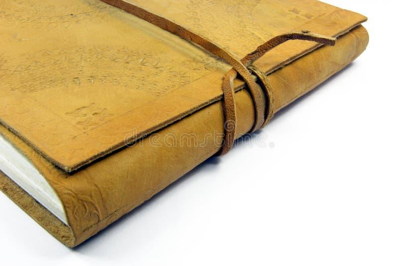 кожа детали 2 книг стоковые фото