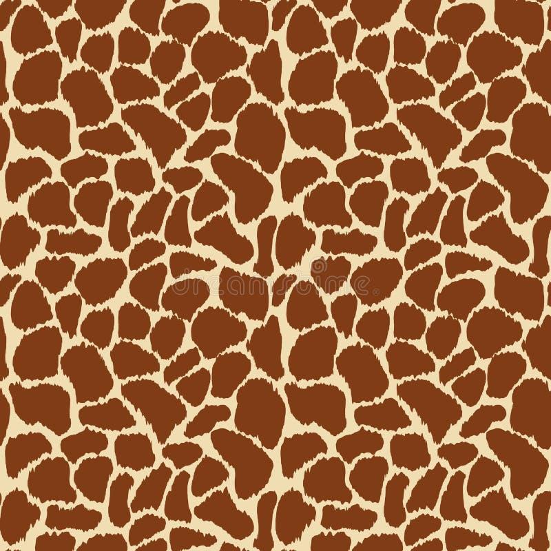 Кожа жирафа иллюстрация штока