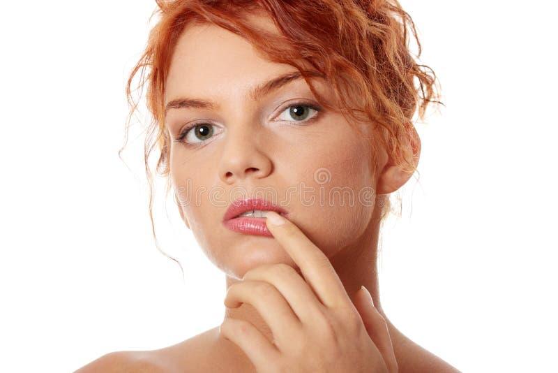 кожа здоровья внимательности стоковое изображение