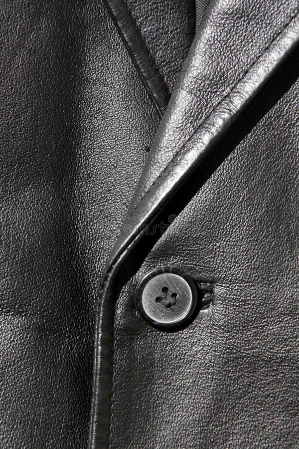 кожа куртки стоковая фотография rf