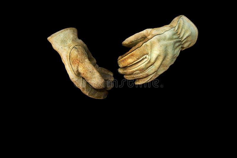 кожа перчаток стоковое фото rf