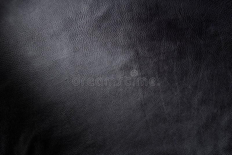кожа предпосылки черная стоковое фото