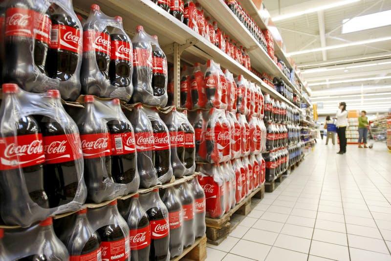Кокаа-кол стоковая фотография