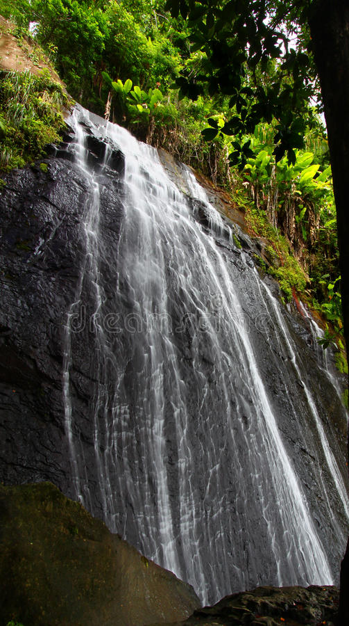 кока падает la Пуерто Рико стоковое фото