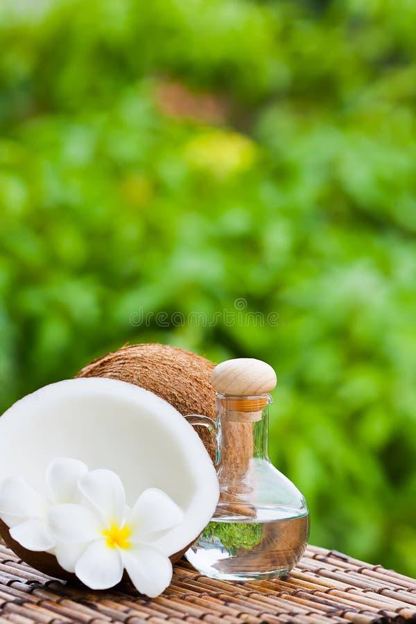 кокосовое масло стоковое изображение