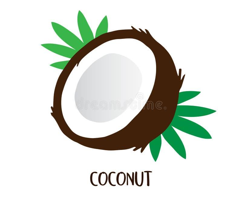 Кокос иллюстрация вектора