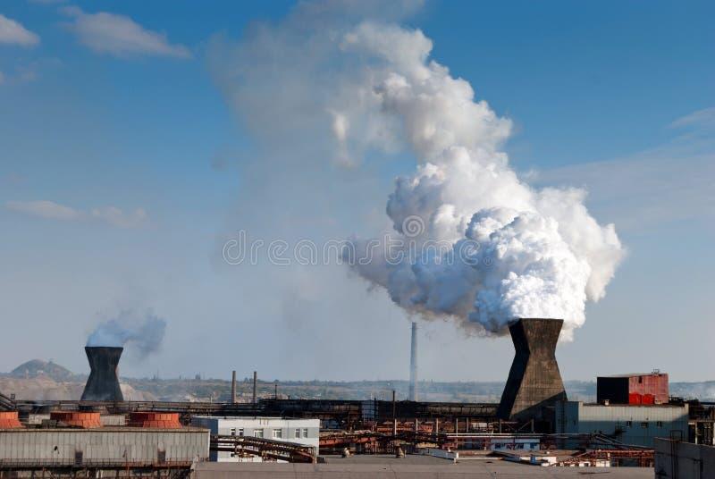 коксовый завод стоковые изображения rf