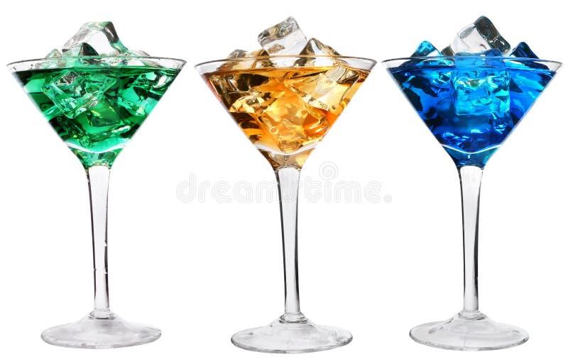 коктеилы 3 стоковое изображение rf