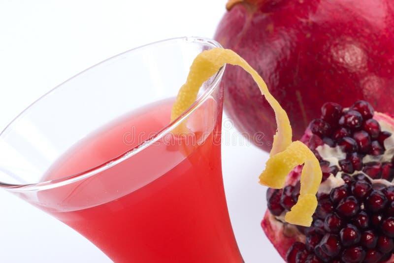 коктеилы martini большинств serie pomegranate популярное стоковое изображение