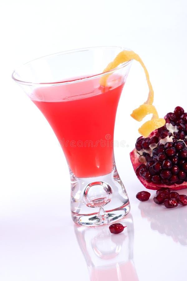коктеилы martini большинств serie pomegranate популярное стоковые фото