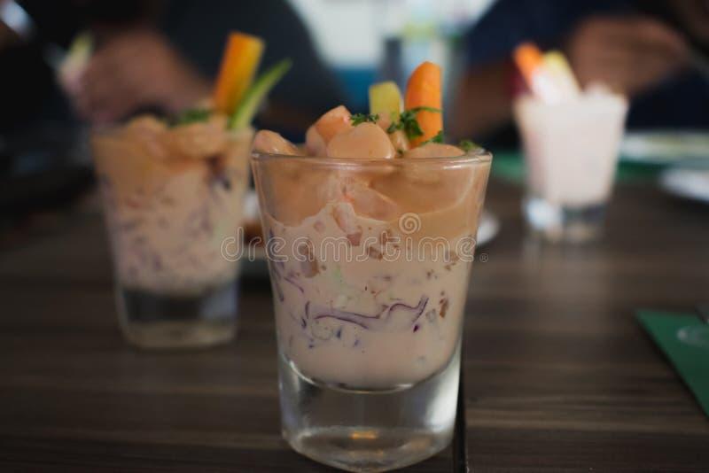 Коктеиль креветки стоковое фото