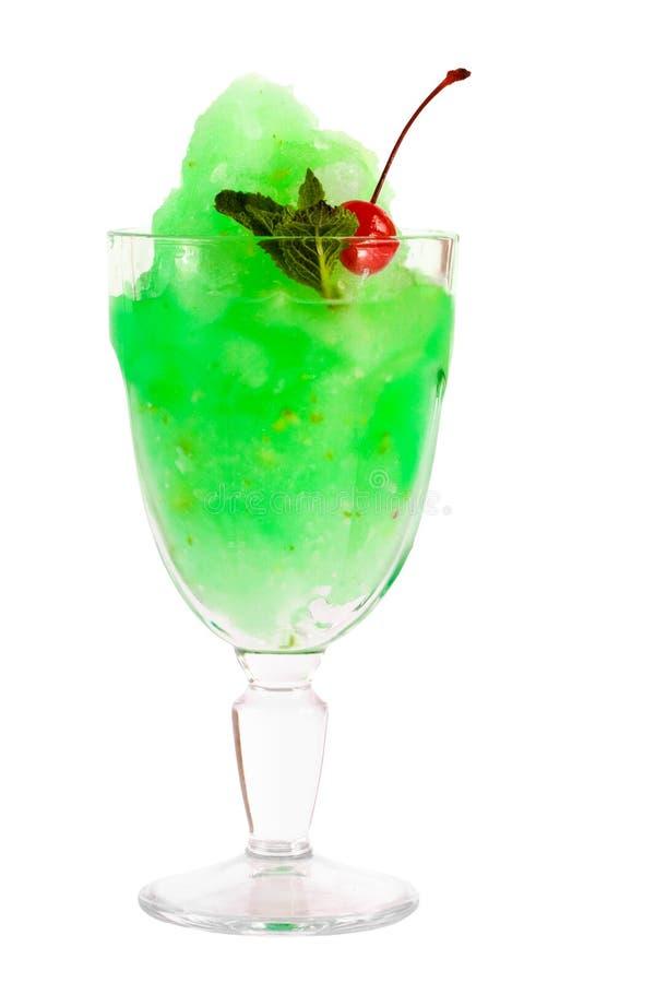 коктеил охлаждая экстренно зеленый цвет стоковое фото rf