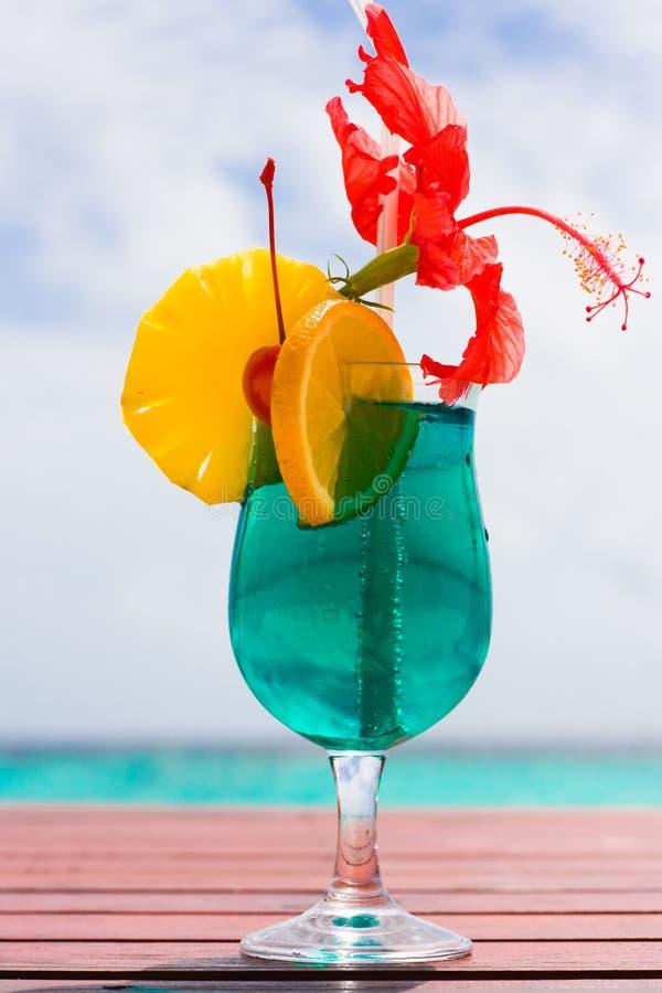коктеил пляжа стоковое фото rf