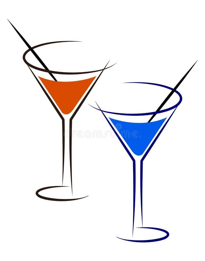 коктеил бесплатная иллюстрация