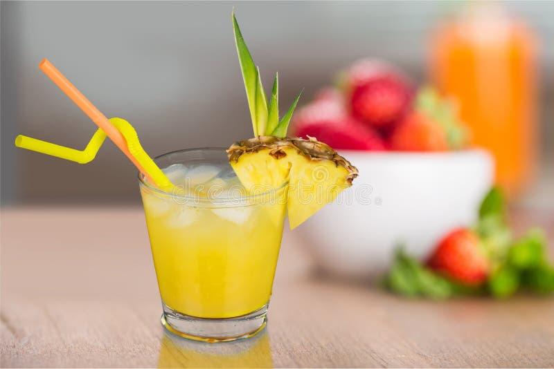 Коктеиль ананаса стоковое фото rf