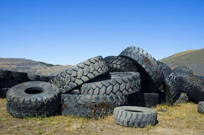 колеса кладбища стоковая фотография rf