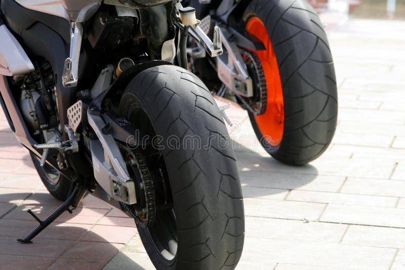 колеса мотовелосипедов стоковое фото rf