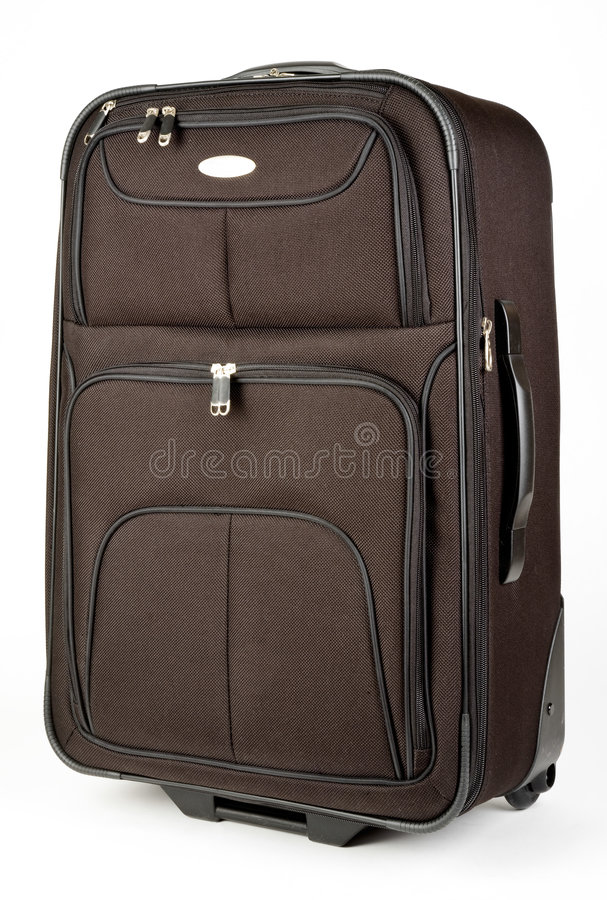 колеса чемодана багажа стоковая фотография
