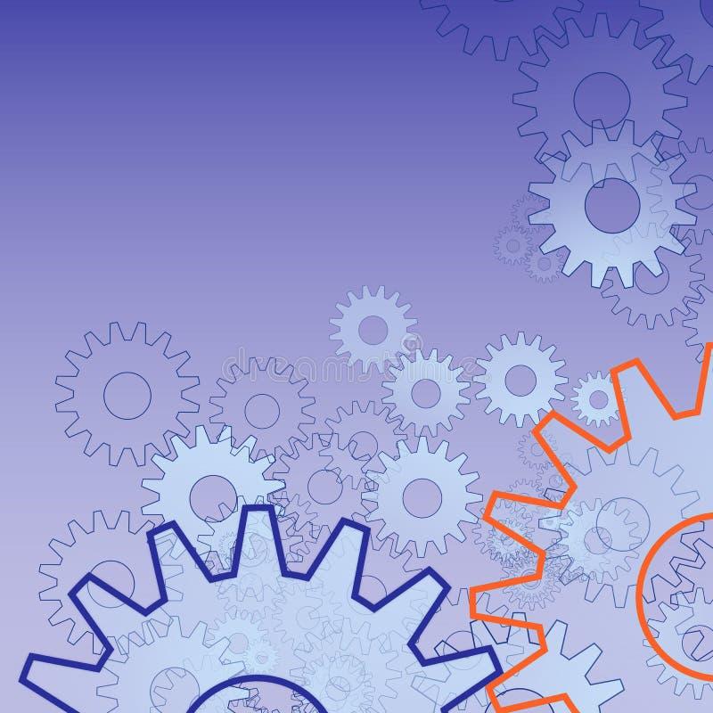 колеса шестерни бесплатная иллюстрация