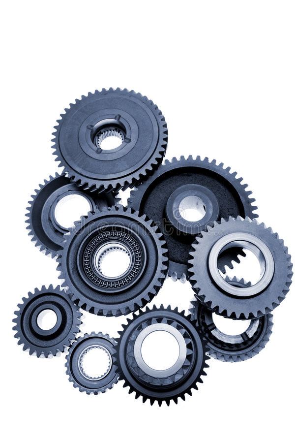 колеса cog стоковое изображение rf