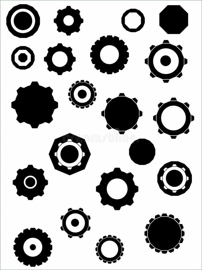 колеса cogs бесплатная иллюстрация