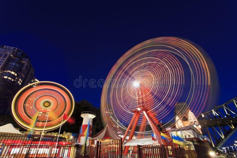 Колеса Sy Luna Park 2 стоковая фотография rf