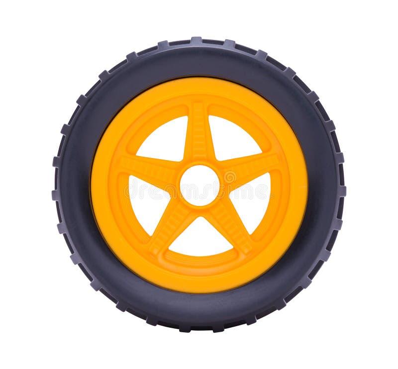 Колесо автомобиля игрушки стоковая фотография